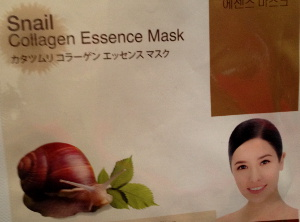 Korean Collagen Essence Mask with Snail Secretion Extract for rejuvenation, moisturizing and nutrition